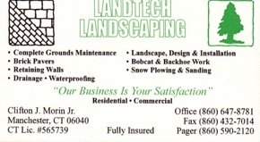 Click to see Landtech Landscaping Details